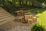 Tisch Savona -HPL in Schiefergrau-