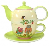 Tea for One Set Nachteule