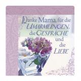 Romantisches Geschirrtuch: Danke Mama...