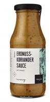 Erdnuss-Koriander Sauce - Mit Minze