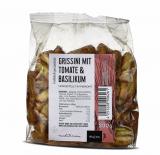 Grissini mit Tomate & Basilikum - Hergestellt im Piemont