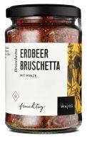 Erdbeer Bruschetta - mit Minze