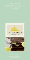 Gefüllte Schokolade mit Gin Lemon