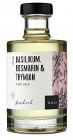Basilikum Rosmarin & Thymian Tonic Sirup