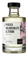 Pfirsich Holunderblüte & Zitrone Tonic Sirup